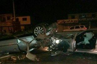 برخورد هیوندای و تویوتا با 2 کشته در محمودآباد
