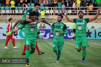 دیدار تیم های فوتبال ذوب آهن اصفهان و تراکتورسازی تبریز