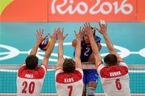 والیبال لهستان بر کوبا غلبه کرد