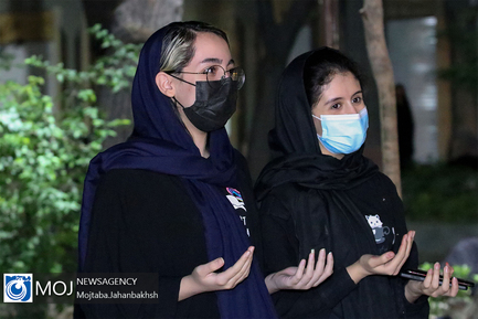 احیای شب بیست و سوم ماه مبارک رمضان در چهار باغ عباسی اصفهان