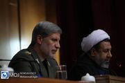 قدردانی وزیر دفاع از اقدامات جهادی ارتش در مقابله با ویروس کرونا