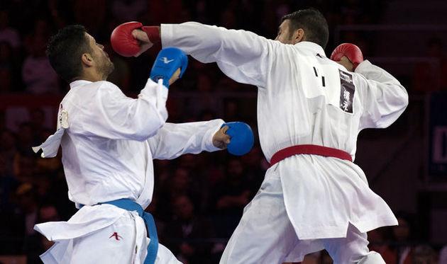 رقابت ۵۰ کاراته کار در مسابقات جام رمضان مشهد