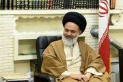 آیت الله حسینی بوشهری از تلاشهای کادر درمان تقدیر و سال نو را نیز  تبریک گفت