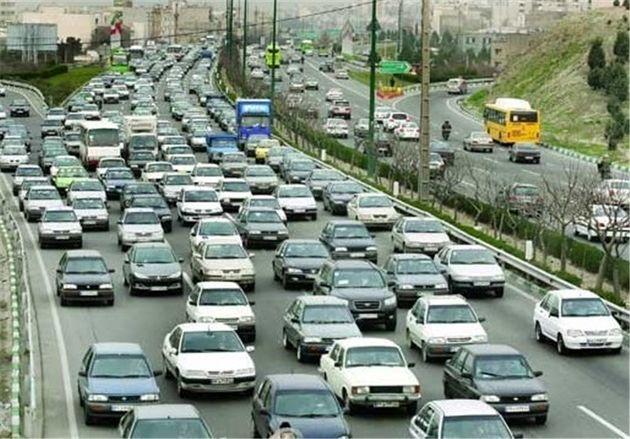 افزایش ۱۰ درصدی تردد خودروها در جاده های استان اصفهان
