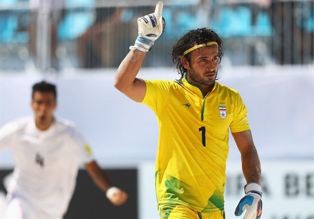 گل حسینی کاندیدای بهترین گل جام جهانی فوتبال ساحلی شد