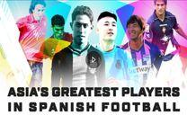 نکونام و شجاعی نامزد کسب عنوان بهترین فوتبالیست آسیایی تاریخ لالیگا شدند