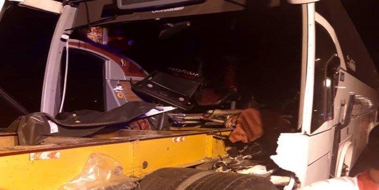 اسامی مصدومان واژگونی اتوبوس اعلام شد