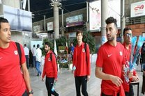 کاروان تیم فوتبال الریان قطر وارد تهران شدند