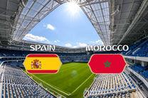 روزنامه گازتا دلواسپورت ترکیب احتمالی اسپانیا و مراکش را اعلام کرد