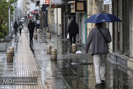 بارش باران بهاری در هرمزگان