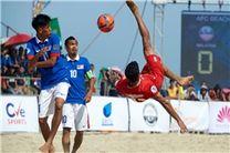پیروزی تیم شهریار ساری درآغاز فصل جدید رقابتهای لیگ برتر فوتبال ساحلی