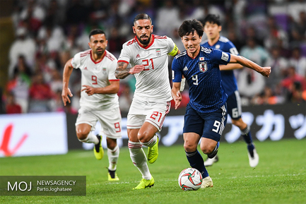 دیدار تیمهای ملی فوتبال ایران و ژاپن