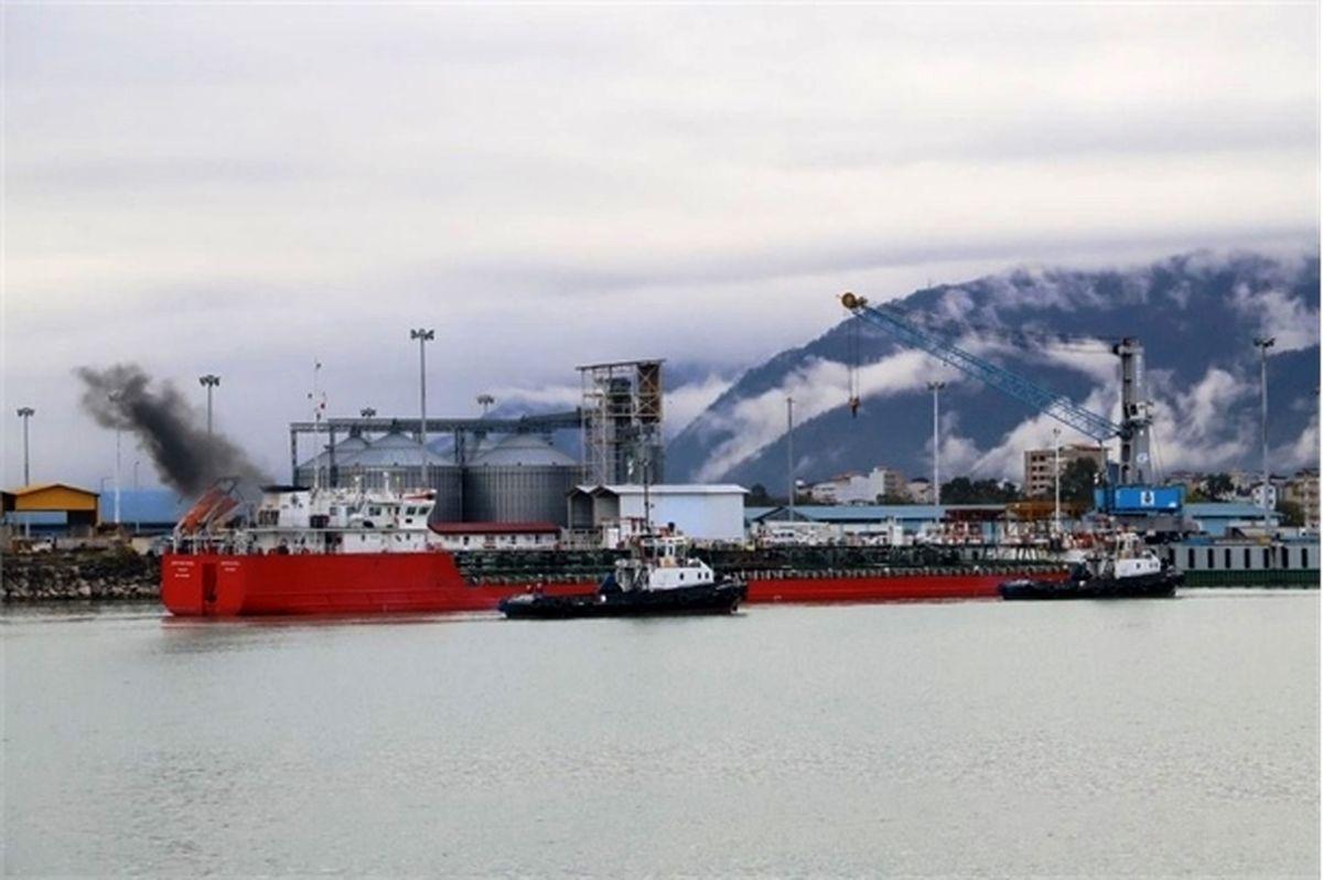 واردات بیش از  ۱۵۸ هزار تن گندم به بنادر مازندران
