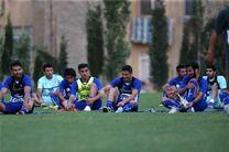 تمرین امروز استقلال تعطیل شد