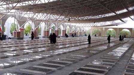 زیارت قبور شهدا در کرمانشاه مجازی میشود