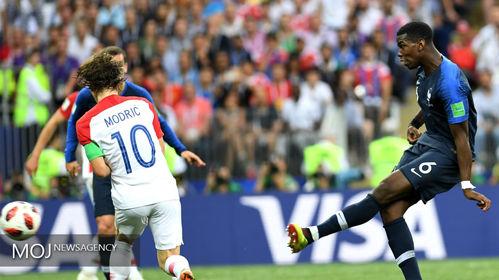 فینال جام جهانی فوتبال - دیدار تیم های فرانسه و کرواسی
