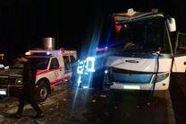 سقوط اتوبوسی به دره با 15 سرنشین/ 3 کشته و 10 مجروح در این حادثه
