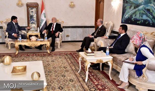 پیام ولید المعلم تسلیم وزیر خارجه عراق شد