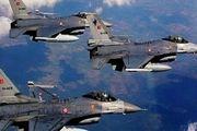 بمباران شمال عراق توسط جنگندههای ترکیه