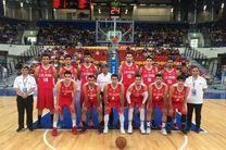 شکست تیم ملی بسکتبال ایران مقابل عراق در جام ویلیام جونز