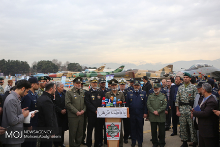 افتتاح نمایشگاه اقتدار هوایی نیروهای مسلح