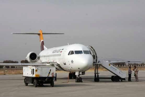 در هفته جاری 10 پرواز در مسیر تهران، خرمآباد، مشهد و بالعکس خواهیم داشت