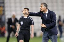 ابراز خوشحالی کارلوس کی روش از پیروزی ایران برابر قطر/اختلاف ما با قطر 4 الی 5 گل بود