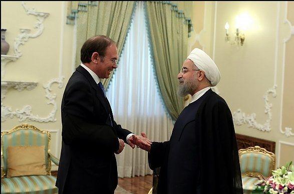 رئیس جمهور کشورمان با رئیس مجلس اسپانیا دیدار کرد