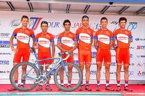 پیشگامان در تور دوچرخه سواری چین قهرمان شد