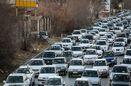 ترافیک سنگین در بزرگراه شهید همت تا شیخ فضل الله