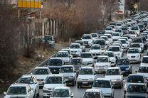 ترافیک سنگین در ۶ معبر بزرگراهی کلانشهر تهران