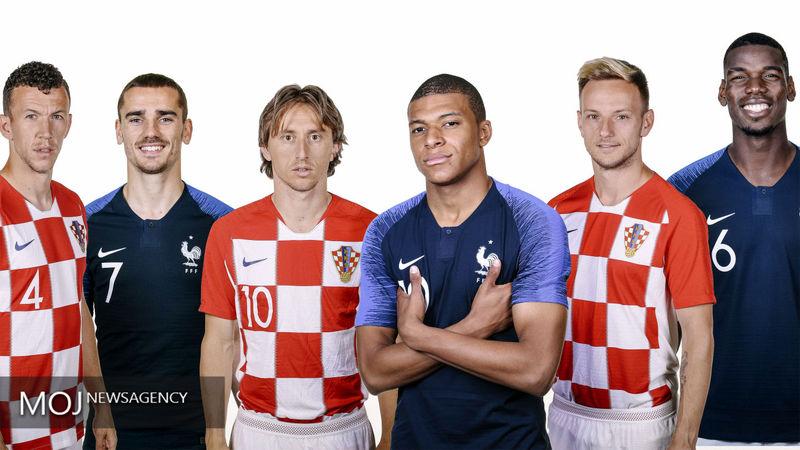 ساعت بازی کرواسی و فرانسه در فینال جام جهانی 2018