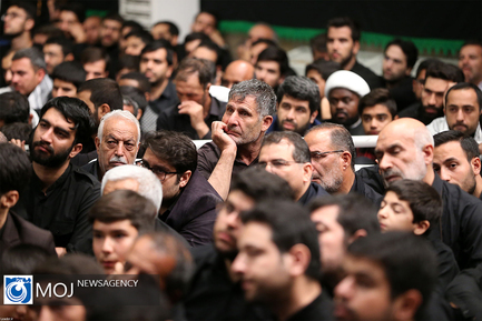 عزاداری شب تاسوعای حسینی (ع) با حضور مقام معظم رهبری