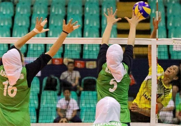 تلاش بانوان والیبالیست زیر ۲۳ سال ایران برای ارتقای جایگاه آسیایی