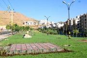 4000 مترمربع فضای سبز در بلوار شهدای انتظام سنندج احداث شد