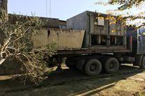 تجهیزات CNG از تهران به گیلان منتقل شد