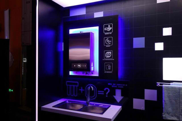 هدایت دوش، وان حمام و آینه با گجت هوشمند