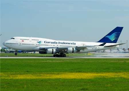 شرکت ملی هواپیمایی اندونزی مشتاق همکاری با ایران است
