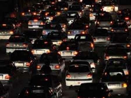 ترافیک راه های البرز سنگین است