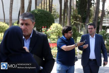 حاشیه جلسه هیات دولت - ۲۷ شهریور ۱۳۹۸/آذری جهرمی