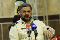 استقرار اولین اکیپ از ماموران پلیس در کمرگ شهید رجایی از 25 تیر