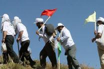 همایش کوهپیمایی و دشت پیمایی ایثارگران قم برگزار شد