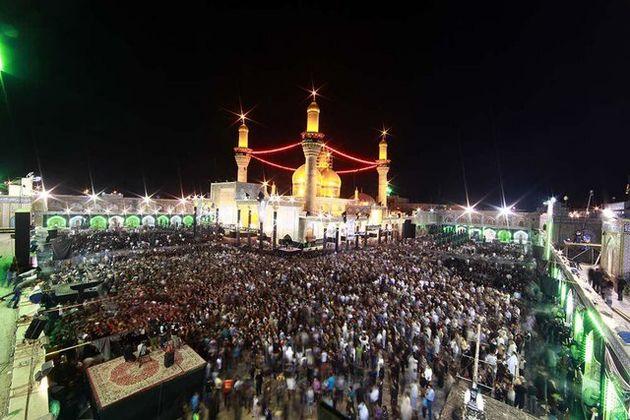 نجات مناره در حال سقوط حرم امام جواد (ع)
