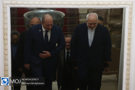 دیدار الکساندر خوتیسیاشویلی معاون وزیر خارجه گرجستان با ظریف