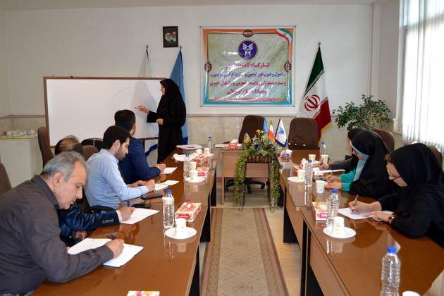 نخستین کارگاه اصول و فنون خبرنویسی در سما واحد رشت برگزار شد