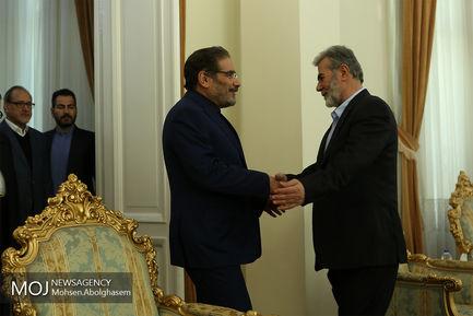 دیدار دبیر کل جنبش جهاد اسلامی فلسطین با شمخانی