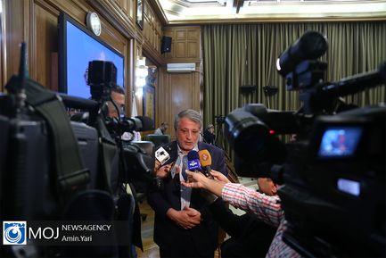 یکصد و چهل و ششمین جلسه شورای شهر تهران/ محسن هاشمی