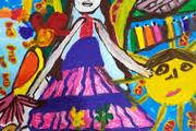 کودک کرمانشاهی جایزه مسابقه نقاشی بینالمللی ژاپن را برد