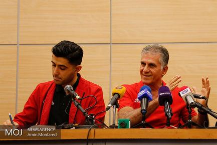 کنفرانس مطبوعاتی سرمربی تیم ملی فوتبال