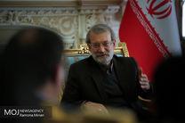 دیدار لاریجانی با رئیس مجلس ویتنام